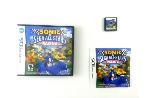 Sonic & SEGA All-Stars Racing game for Nintendo DS ...