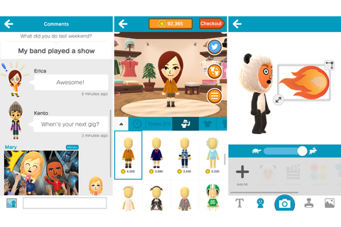 Miitomo, Nintendo's first iOS game, launches in US and other ...