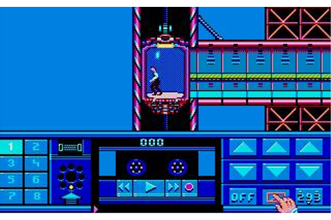 Impossible Mission 2 Download (1988 Arcade action Game)