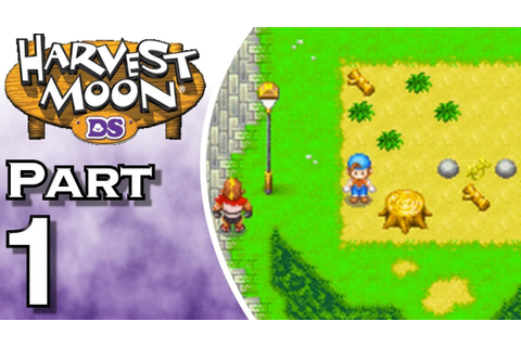 Harvest Moon DS - Gameplay - Walkthrough - Let's Play ...