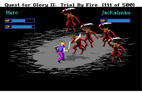 Download Quest for Glory II - Trial by Fire | Abandonia