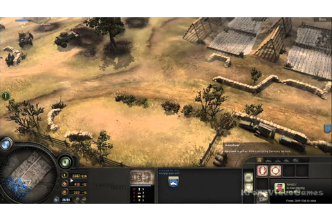 Company of Heroes: Opposing Fronts Gameplay PC HD - YouTube