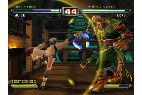 Bloody Roar - Primal Fury (Europe) ISO