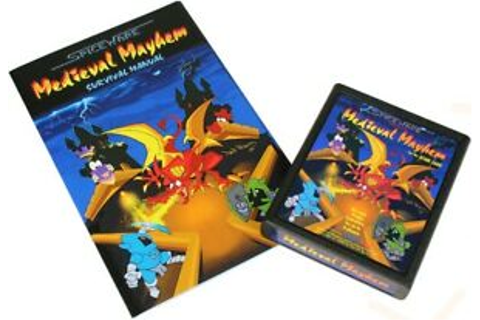 Medieval Mayhem - Atari 2600 Homebrew Game - New! | eBay