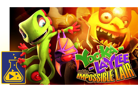 Yooka-Laylee and the Impossible Lair: Reveal Trailer - YouTube