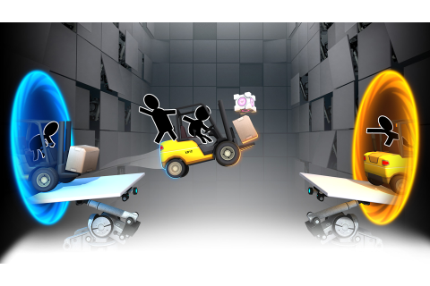 Bridge Constructor Portal Review – A Solidly-Built Puzzler ...
