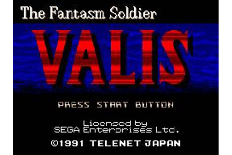 Valis: The Fantasm Soldier Review for Genesis (1991 ...