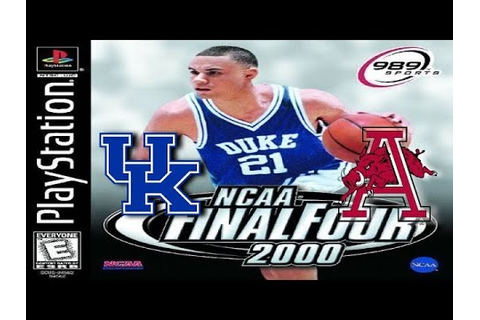 NCAA Final Four 2000 PlayStation Gameplay - Kentucky ...