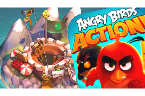Brand New Piggy Island On Angry Birds Action - Angry Birds ...