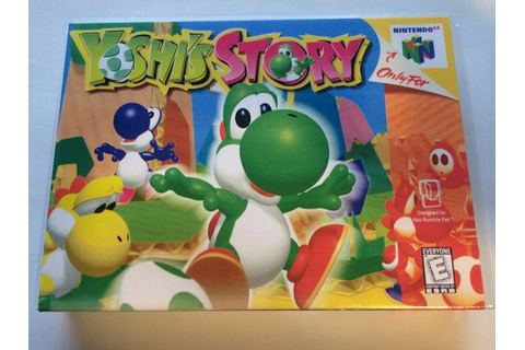 Yoshi's Story - Nintendo 64 - Replacement Case - No Game ...