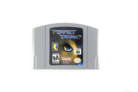 Perfect Dark game for Nintendo 64 (Loose) | The Game Guy