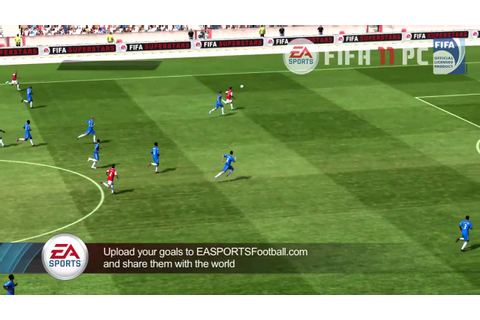 FIFA 11 PC Gameplay Footage - YouTube