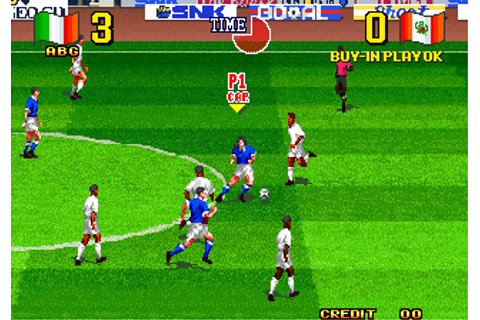 Play Neo Geo Cup '98 : The Road to the Victory SNK NEO GEO ...
