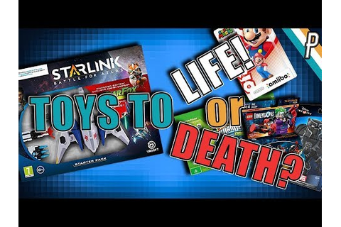 Toys to Life? ...or Toys to DEATH? Can Starlink: Battle ...