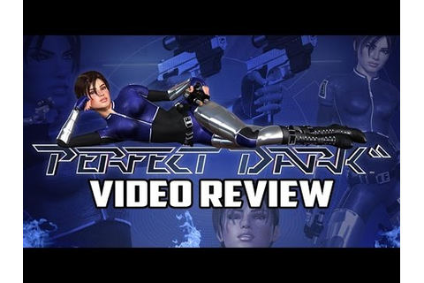 Perfect Dark Nintendo 64 Game Review - YouTube