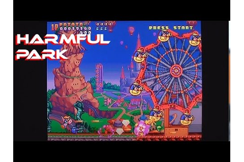 Harmful Park on Playstation / PS1 - YouTube