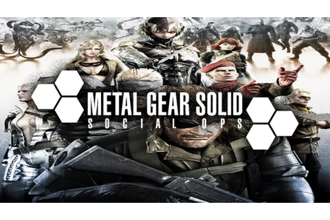Official Metal Gear Solid Social Ops Trailer - YouTube