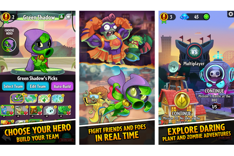 EA announces Plants vs. Zombies Heroes, a collectible card ...