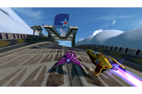 WipEout HD Fury (PS3 / PlayStation 3) Screenshots