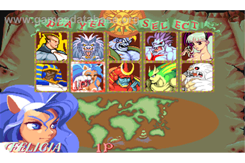 Darkstalkers: The Night Warriors - Arcade - Games Database