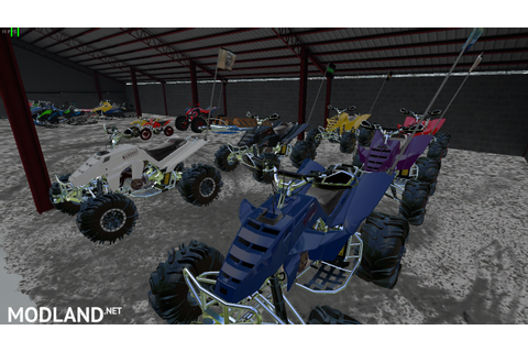 ATV Racing Pack | Raptor & Banshee mod Farming Simulator 17