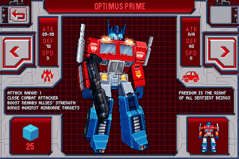 Apple Gazette Reviews: Transformers G1 Awakening - Apple ...