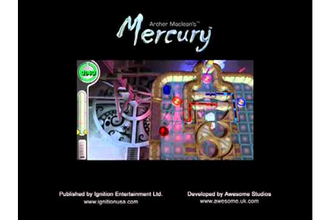 Archer Maclean's Mercury - PSP - YouTube