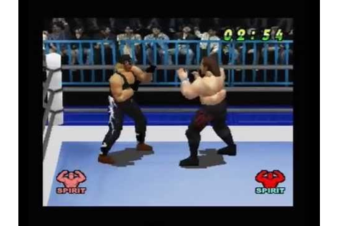 WCW VS THE WORLD PS1 - YouTube