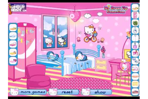Hello Kitty fan decoration Online video game - baby girl ...
