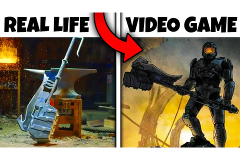 Top 10 Weapons From Video Games THAT ACTUALLY EXIST IN ...