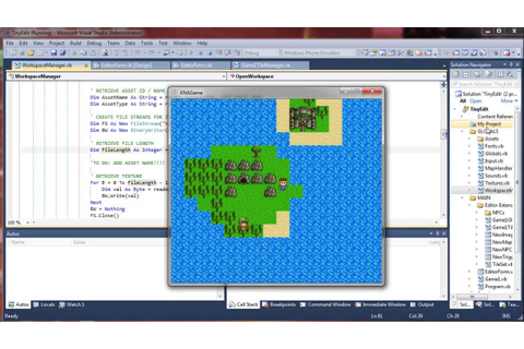 XNA Map Editor - TinyEdit 2.7 and Game Engine Updated - VB ...