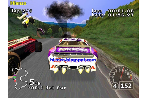 Nascar Rumble PSX ISO Download | Hienzo.com