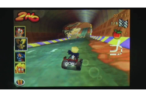 Crash Bandicoot Nitro Kart 3D iPhone Gameplay Video Review ...