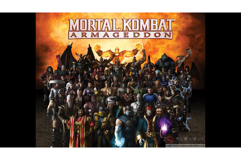 Mortal Kombat: Armageddon (Wii) Review - YouTube