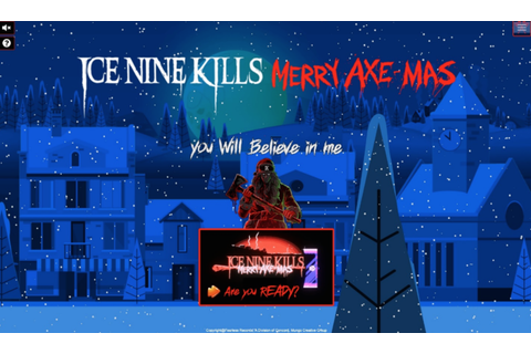 "ICE NINE KILLS Gift Fans with Free Retro Video Game ""Merry ..."