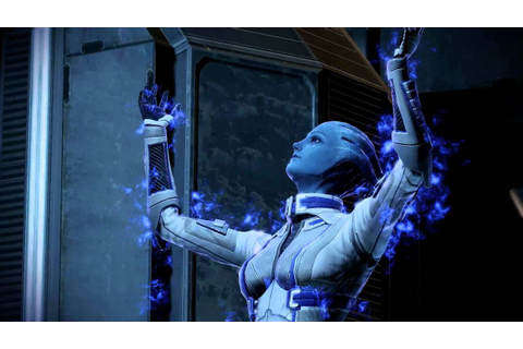 Mass Effect 2: Liara & FemShep Romance: Lair of the Shadow ...