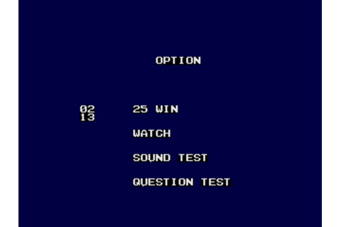 Classic Videogame Hacking: Debug Menu - Mega Q: The Party ...