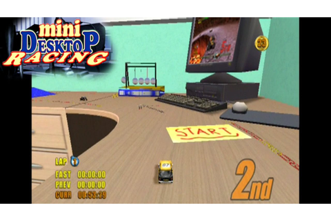 Mini Desktop Racing ... (PS2) - YouTube