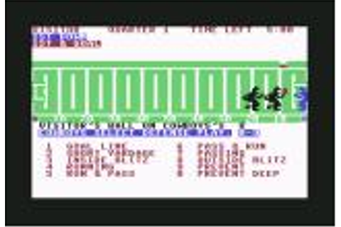 Computer Football Strategy for Atari 8-bit (1983) - MobyGames