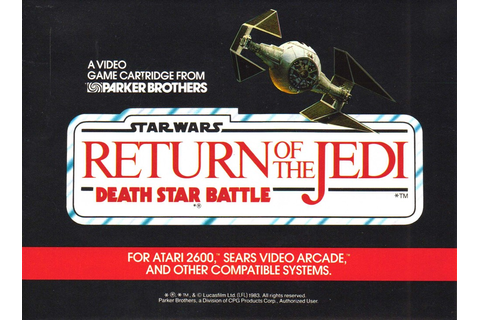 Atari 2600 VCS Star Wars - Return of the Jedi - Death Star ...