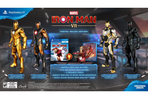 VIDEO GAMES: MARVEL'S IRON MAN VR Takes Flight On ...