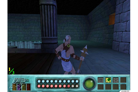 Atlantis: The Lost Empire -- Trial by Fire Screenshots ...