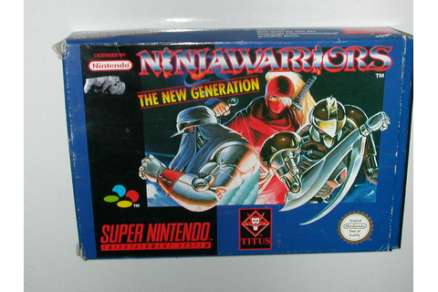Mister Game Price : Argus du jeu Ninja Warriors, The New ...