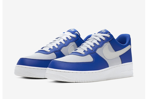 Game Royal And Grey Combine On This Nike Air Force 1 ...