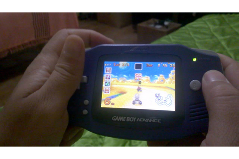 Gameplay Mario Kart Super Circuit Game Boy Advance ...