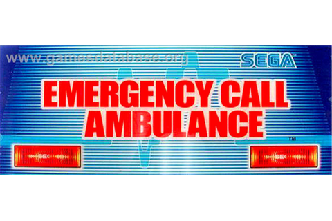 Emergency Call Ambulance - Arcade - Games Database