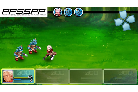 Crimson Gem Saga - PSP Gameplay (PPSSPP) 1080p - YouTube