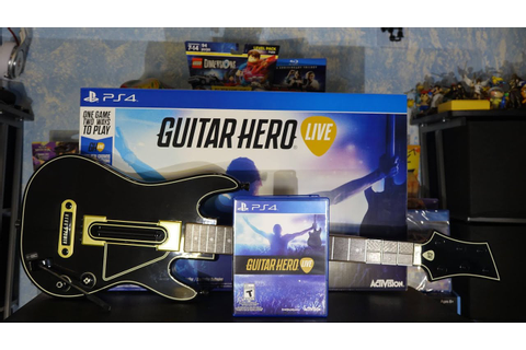 Guitar Hero Live - PlayStation 4 :UnBoxing - YouTube