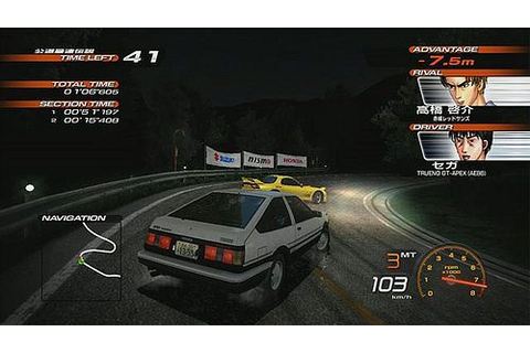 Initial D: Extreme Stage (2008) by Sega PS3 game