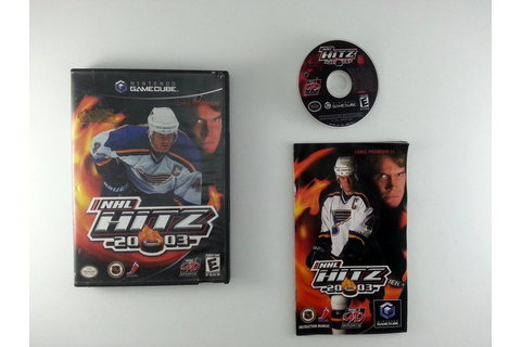 NHL Hitz 2003 game for Gamecube (Complete) | The Game Guy